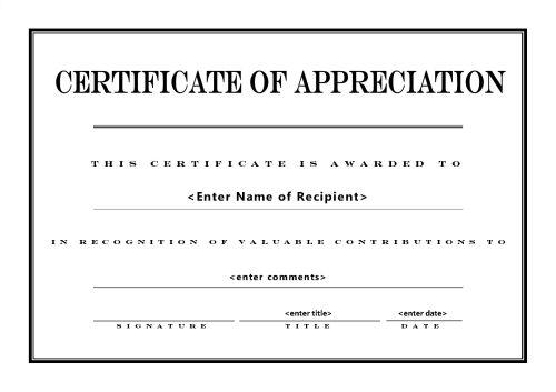 Certificates of Appreciation 004