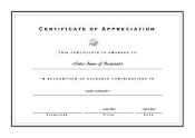 Certificates of appreciation 006 for Certificate of appreciation template publisher