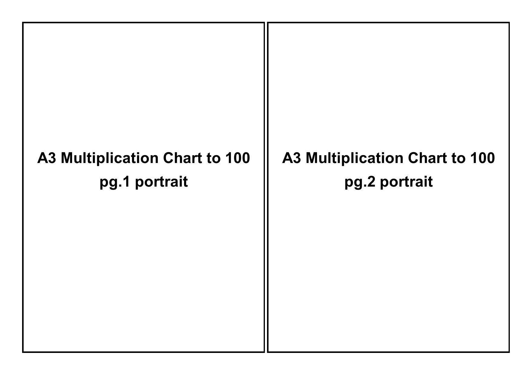 A3 print layout